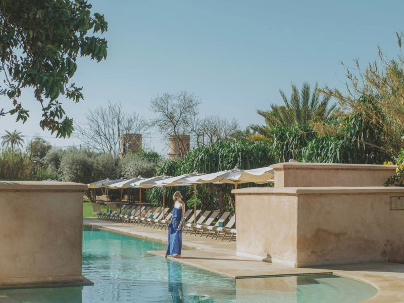 An elegant yet traditional hotel in the heart of Marrakech's Palm Grove