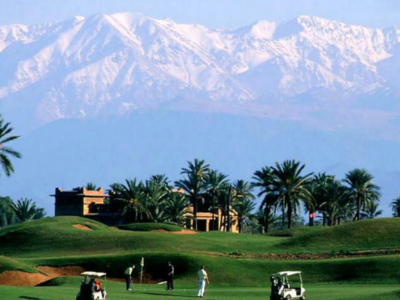 Marrakech golf hotels